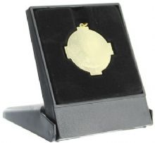 Plastic Economy Box Holds 34mm Medal